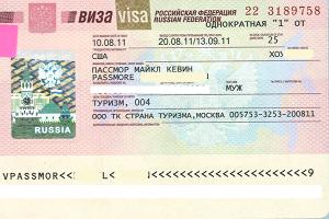 Một số thủ tục visa nhập cảnh du lịch Nga nên biết!
