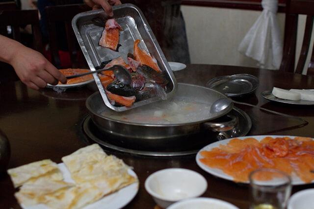 Món cá Sanwen