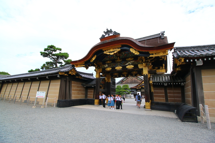 Khám phá lâu đài ở thành cổ Nijo Kyoto, Nhật Bản