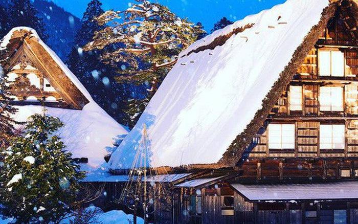 Ogimachi - ngôi nhà lớn nhất của khu làng cổ