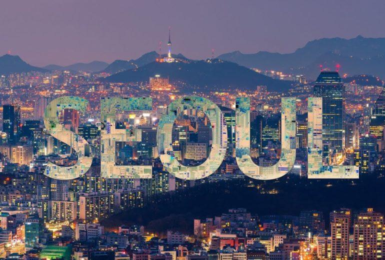 ngắm thành phố Seoul dần thu nhỏ