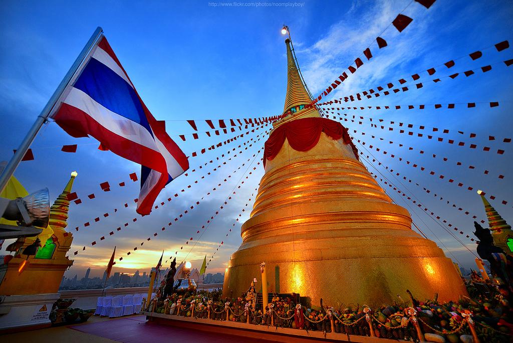 Chùa Wat Saket, Thái Lan