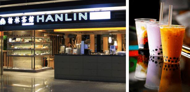 quán trà sữa trân châu Hanlin tearoom
