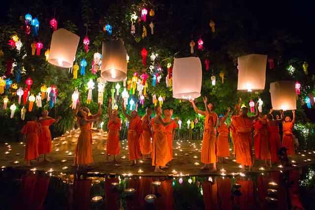 Lễ hội Loy Krathong là lễ hội đặc sắc không thể bỏ qua nếu có dịp du lịch Thái Lan tháng 11