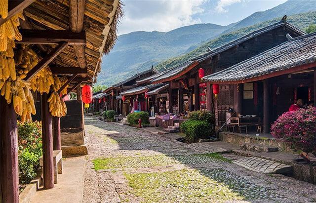 Con đường Jiangren tại thung lũng Đông Ba