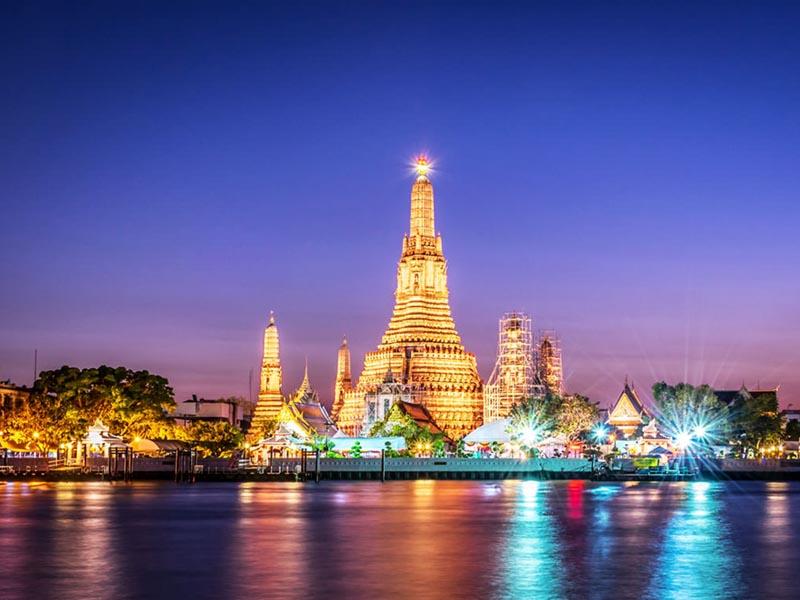 Chùa Wat Arun, Thái Lan