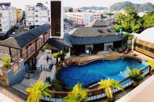 Một số khách sạn nổi tiếng ở bãi biển Patong Phuket, Thailand