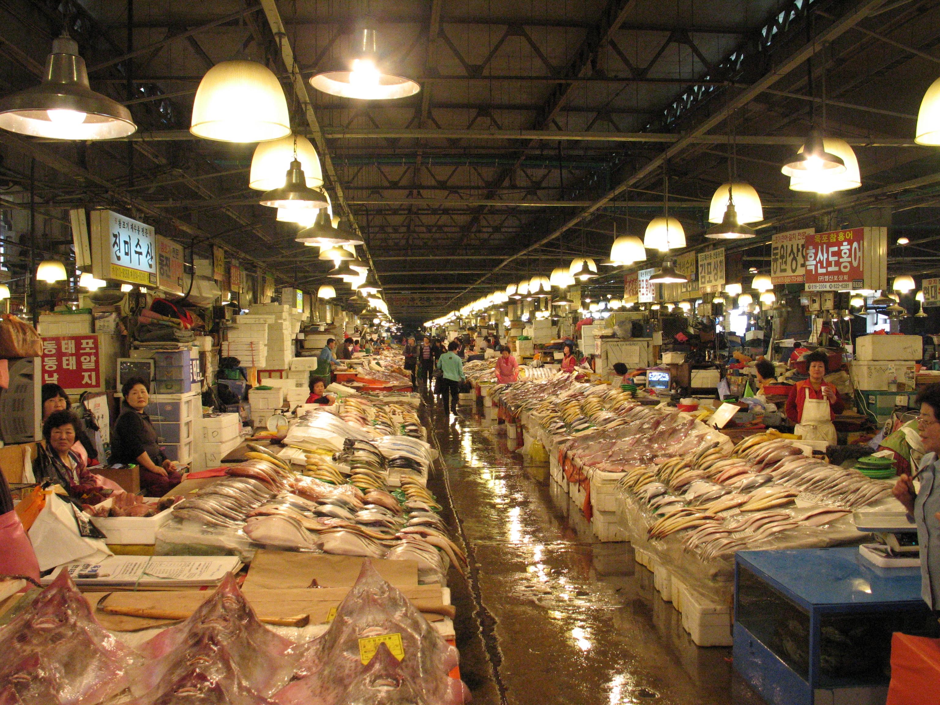 Chợ thủy sản Noryangjin