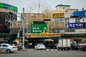Những khu chợ mang đậm văn hóa truyền thống Hàn Quốc