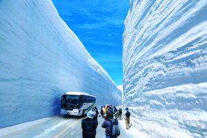 Trượt tuyết du xuân ở Tateyama Kurobe Alpine trong tour Nhật Bản trọn gói