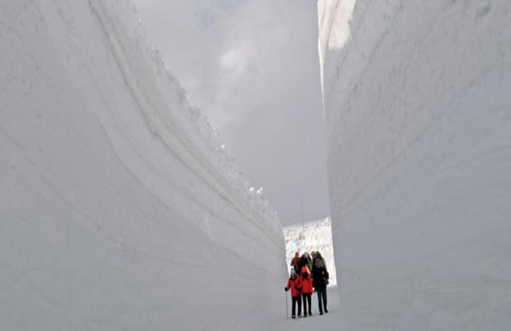 đường tuyết Tateyama Kurobe Alpine