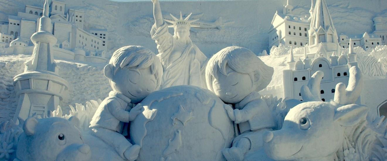 Lễ hội Sapporo Snow Fesival (Hokkaido) Nhật Bản