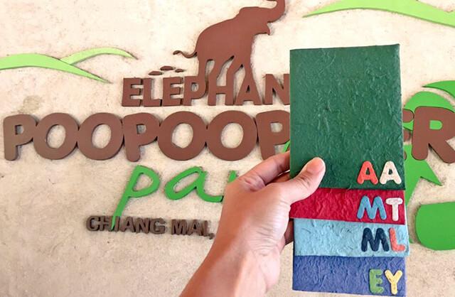 Các sản phẩm làm từ giấy phân voi sẽ là món quà lưu niệm độc đáo và ý nghĩa cho mỗi du khách