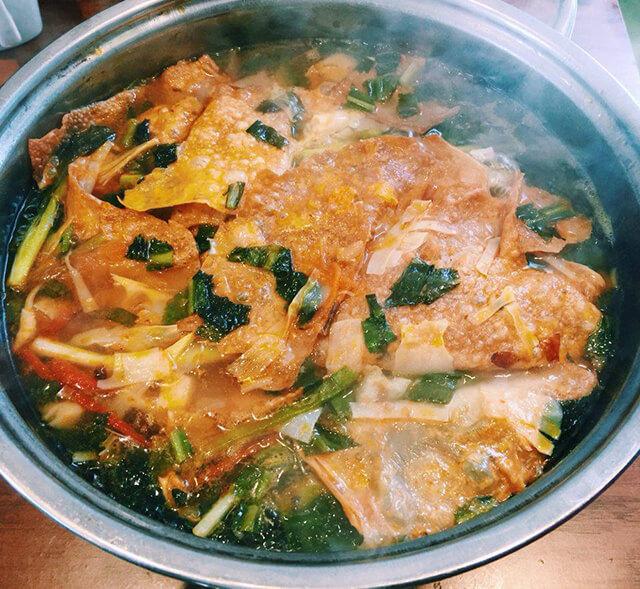 Món Tuan Nian Cai thường được nấu trong dịp đầu năm mới, mang ý nghĩa của sự đoàn tụ và cầu mong những điều tốt đẹp