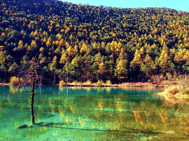 Thung lũng Trăng Xanh đẹp tựa chốn bồng lai tiên cảnh