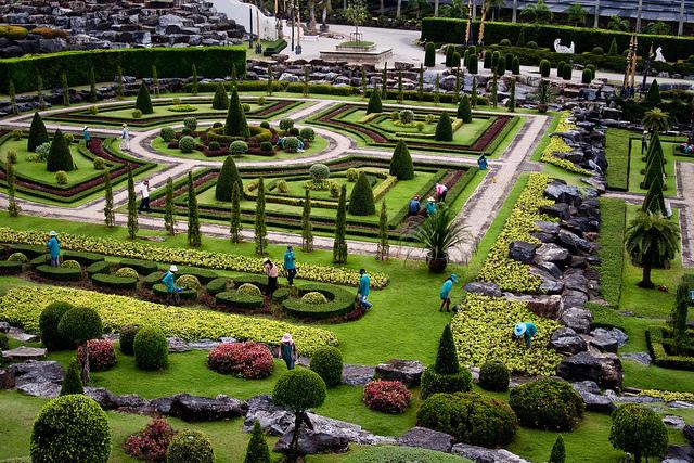 Vườn nhiệt đới Nong Nooch Thailand