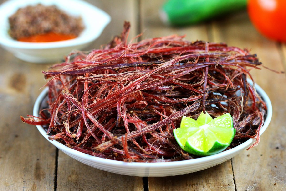 Đặc sản thịt trâu gác bếp Sapa