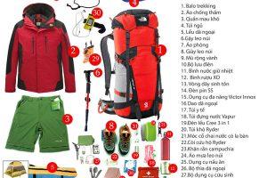 Cần chuẩn bị những đồ dùng gì khi đi leo núi Fansipan trong tour Sapa?