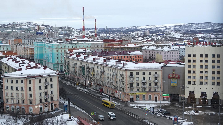 Thành phố Murmansk yên bình