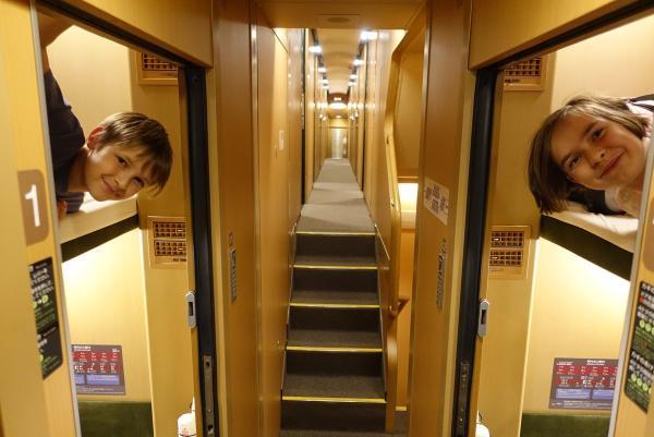 Du lịch Nhật Bản trên tàu lửa là một trải nghiệm vô cùng thú vị