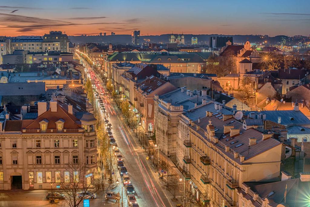 Thủ đô Vilnius của đất nước Lithuania