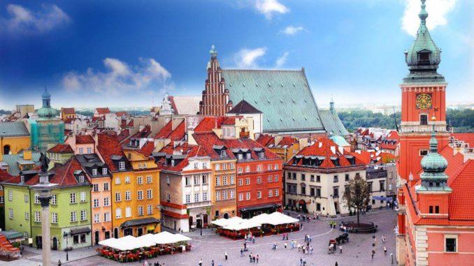 Những tòa nhà mang phong cách Baroque của thủ đô Warsaw