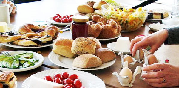 Bánh mì trong các bữa ăn ở Đức