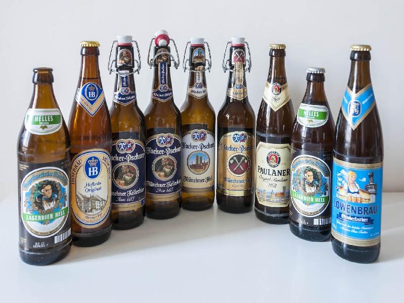Các loại bia ở Munich