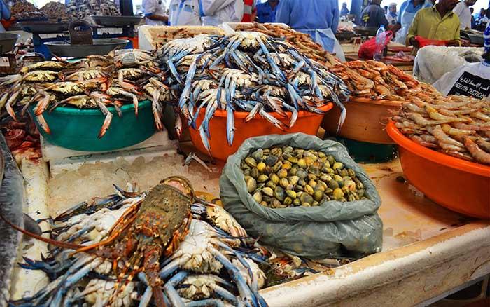chợ Deira Dubai