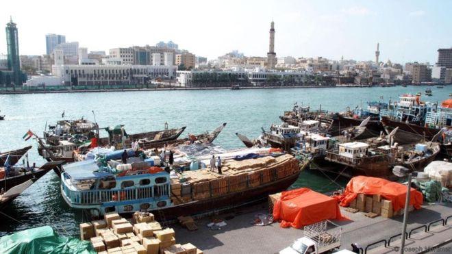 chợ hải sản Deira Dubai