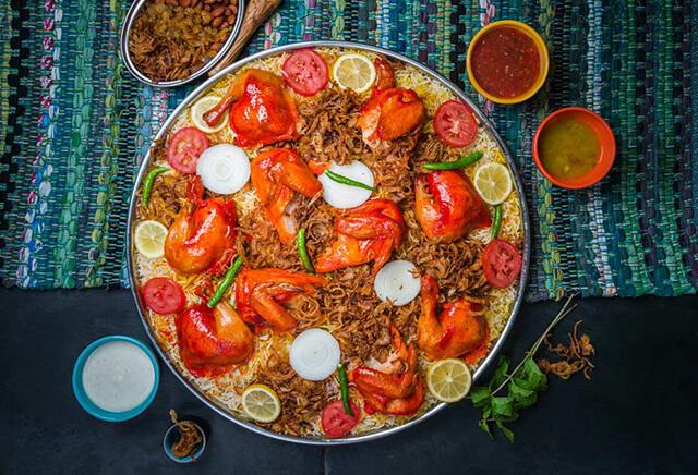 Ý nghĩa của tên Mandi xuất phát từ sự hòa quyện của gạo ở dưới và thịt ở trên