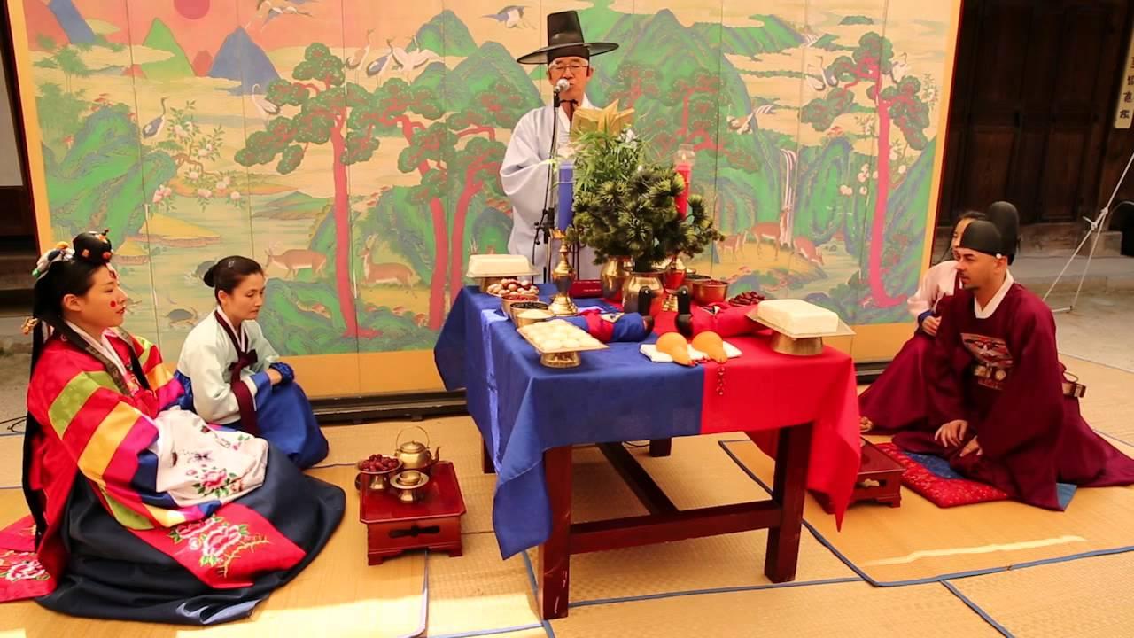 Nghi lễ trong đám cưới truyền thống ở Hàn Quốc