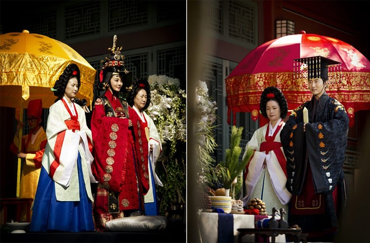 Độc đáo với đám cưới truyền thống ở Hàn Quốc