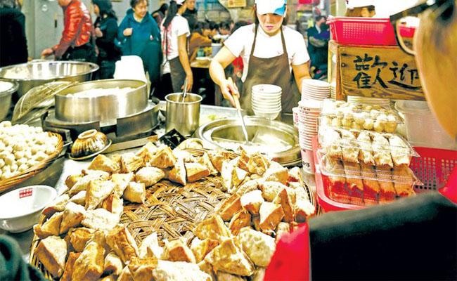 khu ẩm thực Zhongzhen