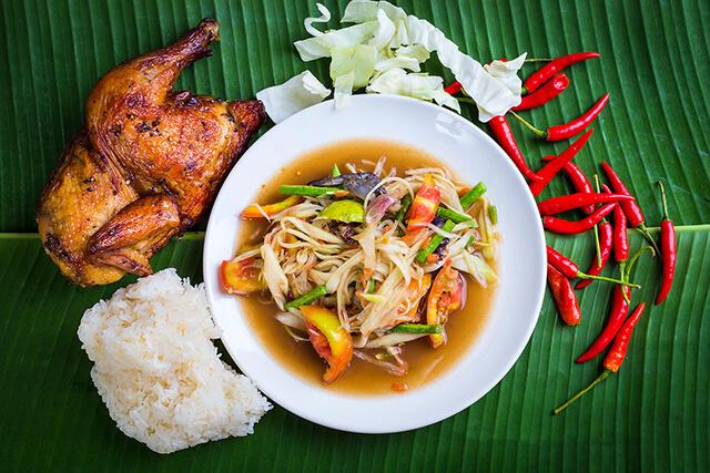 Khu ẩm thực South Pattay phục vụ vô số đặc sản của xứ Chùa Tháp