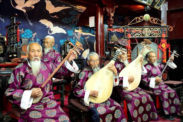 Âm nhạc truyền thống của Lệ Giang vô cùng ấn tượng và độc đáo
