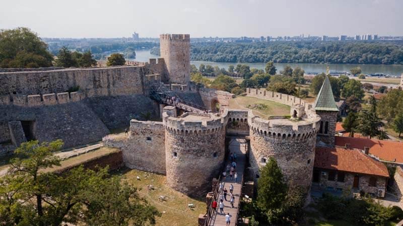 Di tích pháo đài Beogradska Tvrđava