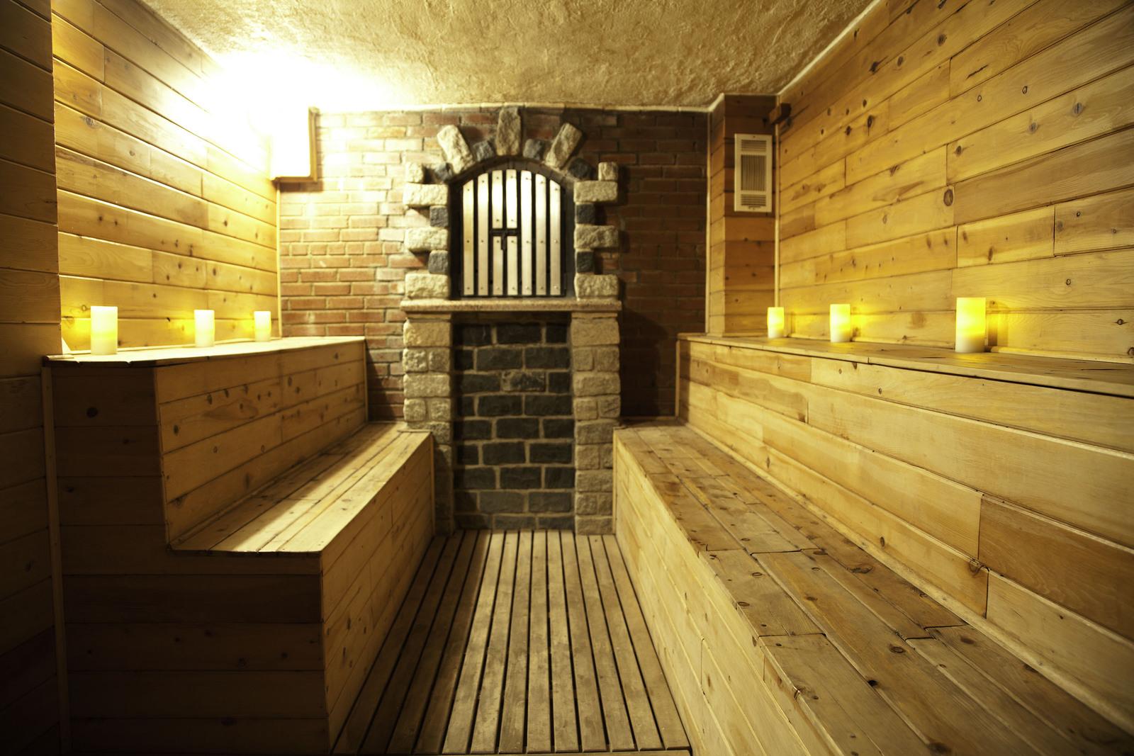 Phòng xông hơi trong banya ở Nga khá đặc biệt