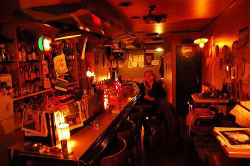 Quán rượu nhạc Jazz ở Takayama, Nhật Bản