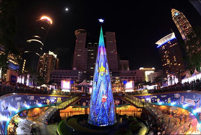 Giáng Sinh không phải là ngày lễ của Đài Loan nhưng vẫn được trang hoàng ở nhiều nơi