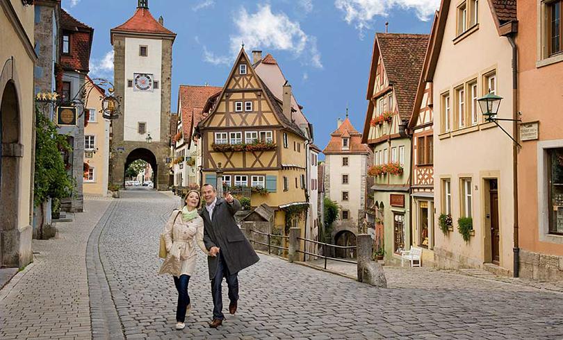thị trấn Bavarian