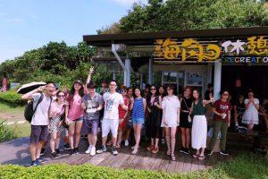 Nhiệt độ mùa hè ở Đài Loan khá nóng bức