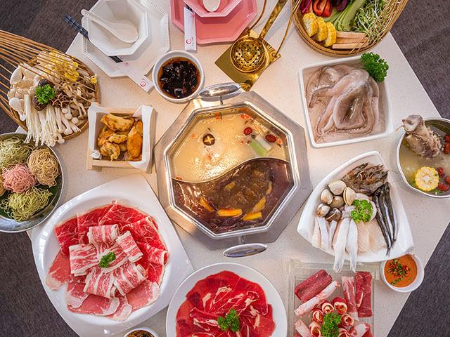 Mùa đông là thời gian lí tưởng để thưởng thức các món ăn cay và nhiều dầu mỡ của xứ Đài
