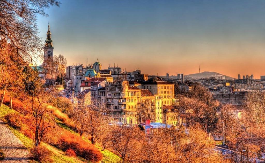 Thủ đô Belgrade của Serbia
