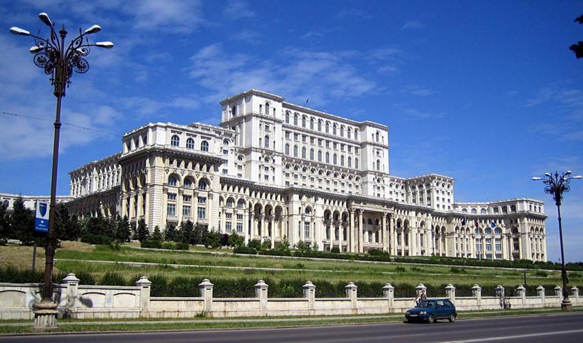 tòa nhà quốc hội Romania