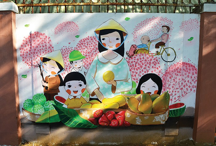 Phố bích họa ở thành phố Đà Nẵng