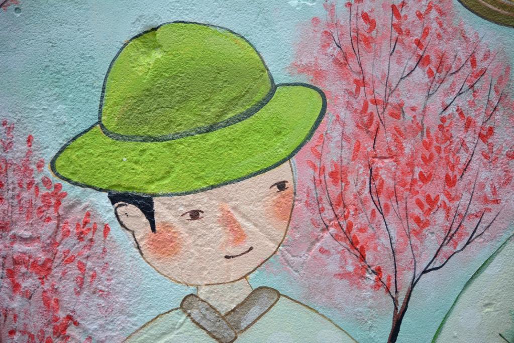 Du lịch Đà Nẵng để ngắm tranh bích họa tuyệt đẹp
