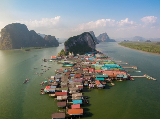Ngôi làng nổi Ko Panyi