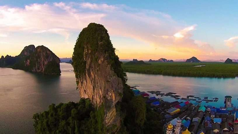 ngôi làng nổi Ko Panyi, Thái Lan