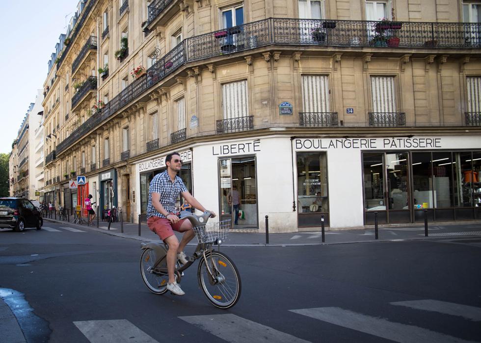 xe đạp Vélib